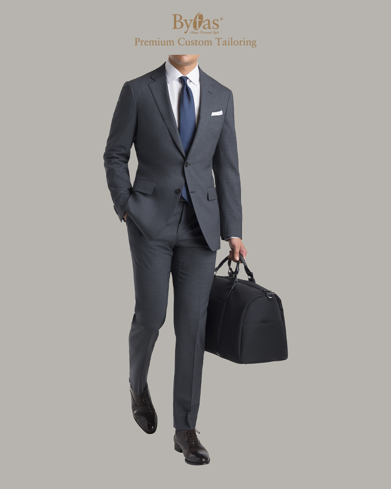 The Traveler Suit in Gray