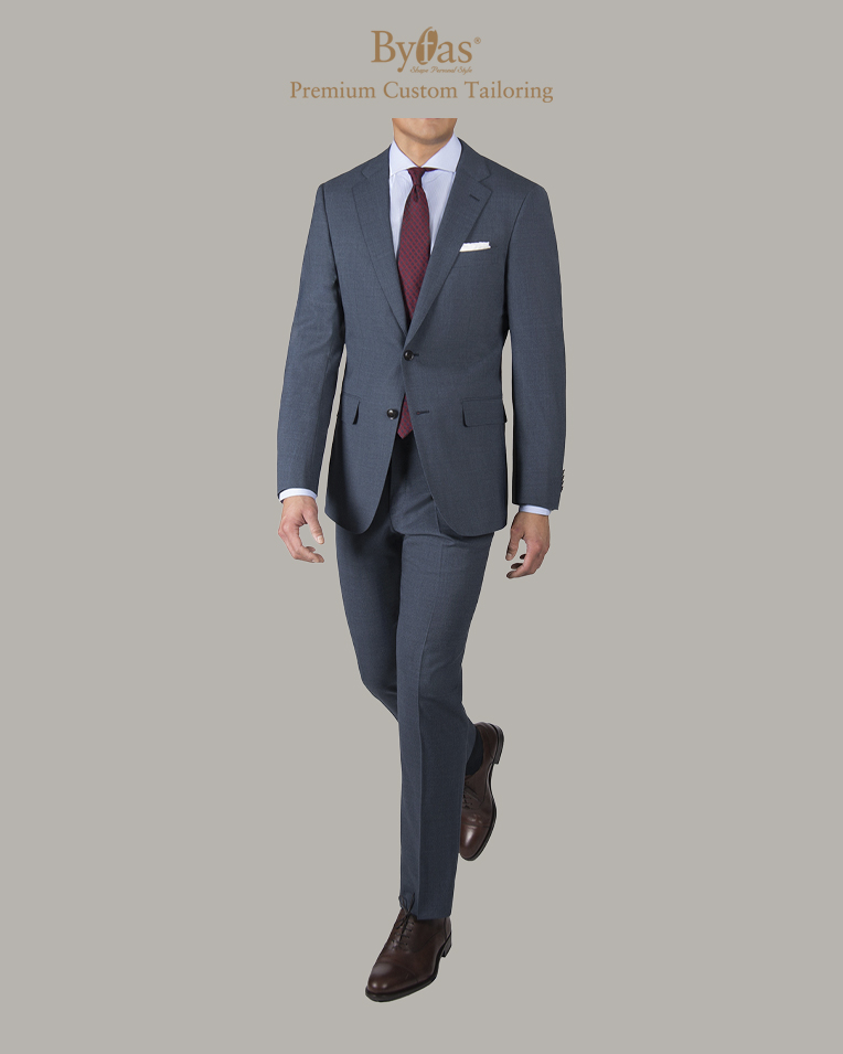 The Traveler Suit in Slate Blue